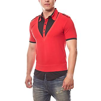RUSTY NEAL Red camiseta Polo hombre