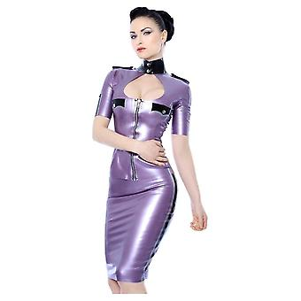 Westward Bound Queeny Military Latex Rubber Top.
