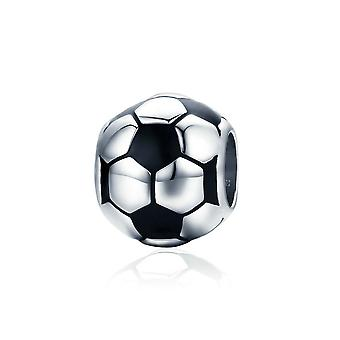 Sterling silver charm Football SCC666
