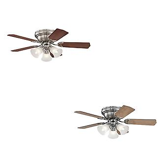 Westinghouse ceiling fan Contempra Trio Brushed Nickel 90 cm / 36