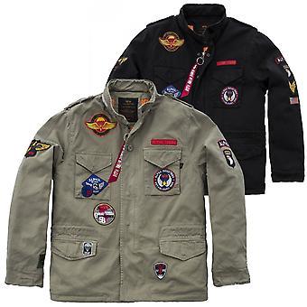 Alpha industries vintage M-65 jacket CW patch