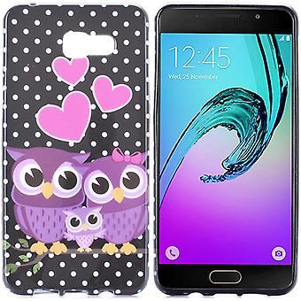 Silikonhülle Motiv 44 Hülle Tasche für Samsung Galaxy A5 2016 A510F