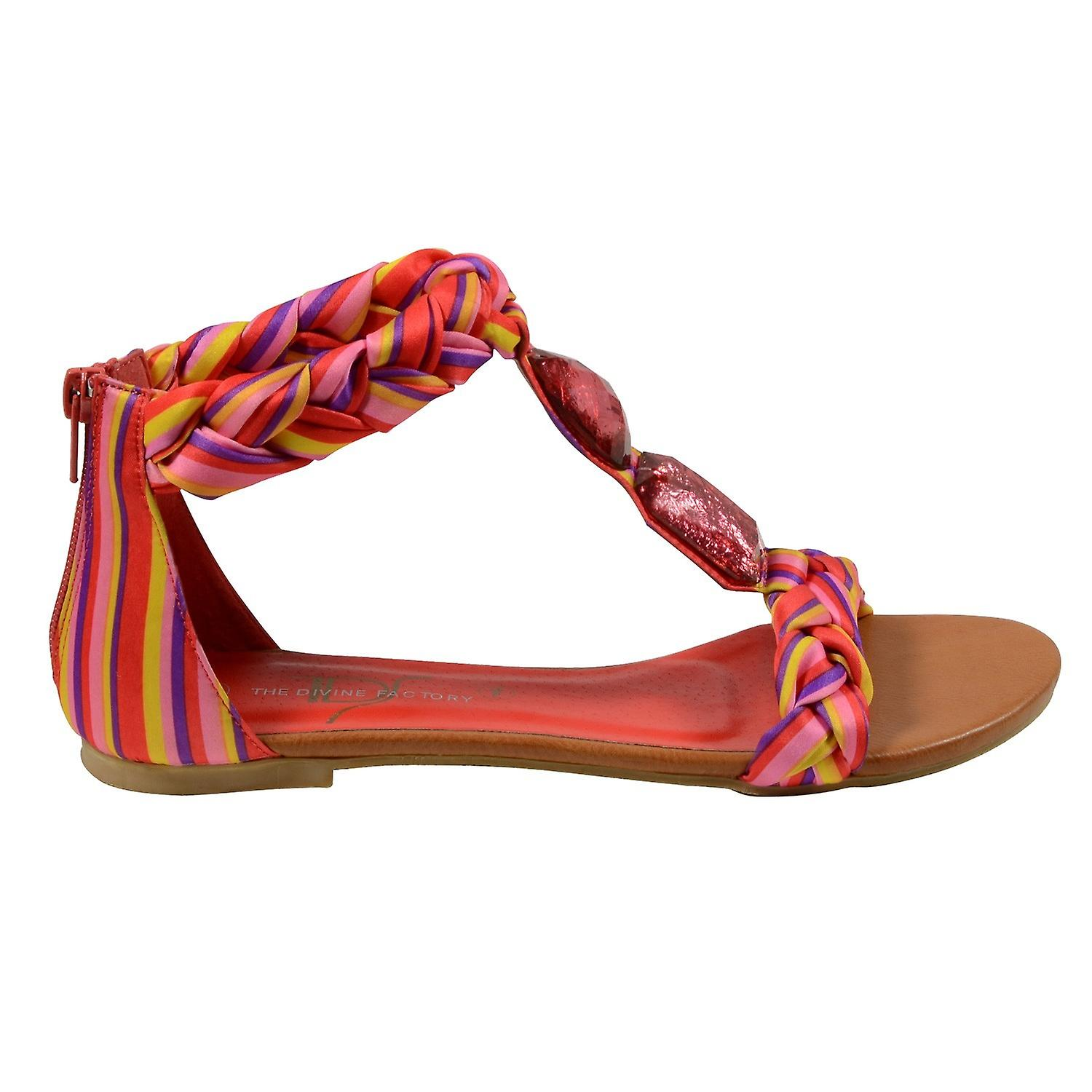 Waooh - Shoes - Sandals braided TDF516 The Divine Factory