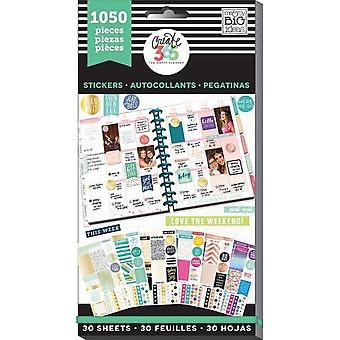 Create 365 Happy Planner Sticker Value Pack-This Colorful Life - Classic, 1050/Pkg