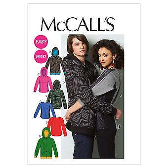 Misses'/Men's Tops and Jacket-XN (XLG-XXL-XXXL) -*SEWING PATTERN*
