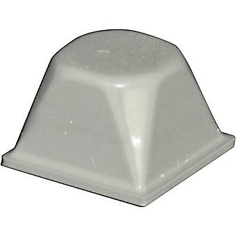 TOOLCRAFT PD3206G Foot self-adhesive, circular Grey (Ø x H) 20.5 mm x 13.2 mm 1 pc(s)