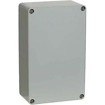 Mounting plate (L x W) 244 mm x 146 mm Aluminium Silver-grey Fibox AM 1626 1 pc(s)