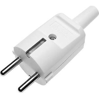 GAO 611603 seguridad enchufe PVC 230 V blanco IP20
