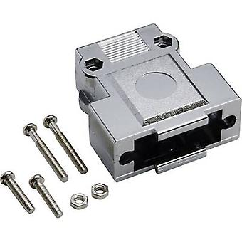 D-SUB housing Number of pins: 15 Plastic, metallised 180 ° Silver BKL Electronic 10120248 1 pc(s)