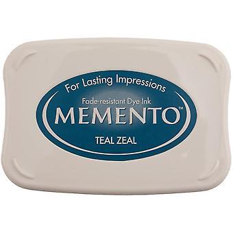 Memento Dye Ink Pad-Teal Zeal
