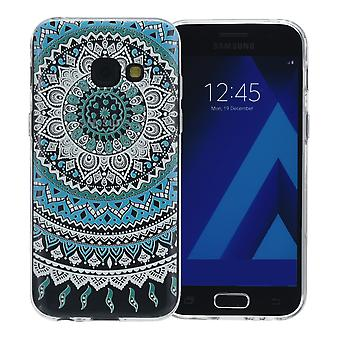 Henna cover for Samsung Galaxy S8 plus case + protective cover silicone Sun blue