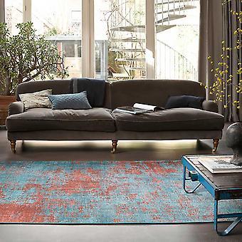 Weconhome nacht uur tapijten 18003 04 In blauw en oranje