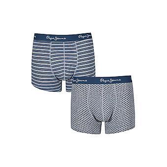 New Designer Mens Pepe Jeans Boxer Trunk Shorts Lucian