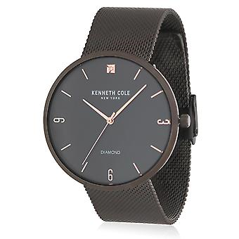 Kenneth Cole Black Stainless Steel Mens Watch KC50638002