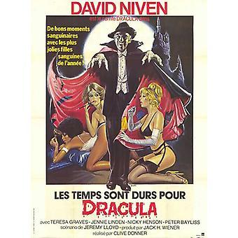 Antiguo cartel de la película de Dracula (11 x 17)