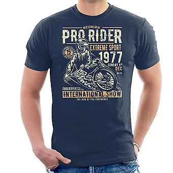 Pro Rider motorcykel internationella Visa mäns T-Shirt