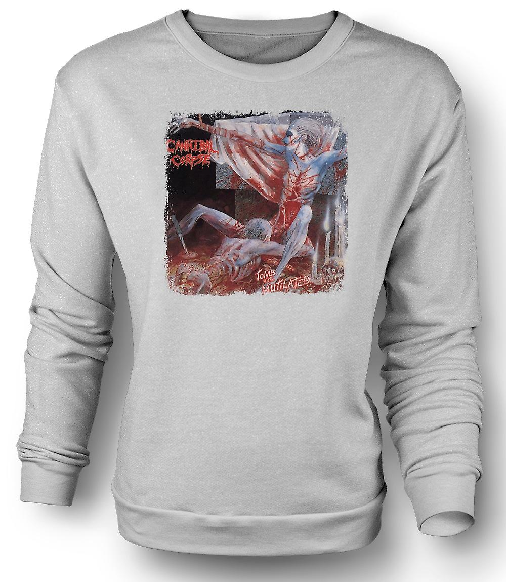 Mens Sweatshirt Cannibal Corpse - Tomb Of The Mutilated