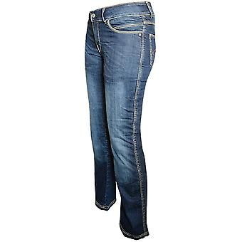 Bull-It Blue Vintage Easy SR6 - Long Womens Motorcycle Jeans