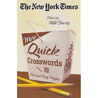 The New York Times More Quick Crosswords: Fast and Easy Puzzles
