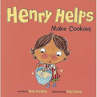 Henry ajuda a fazer Cookies