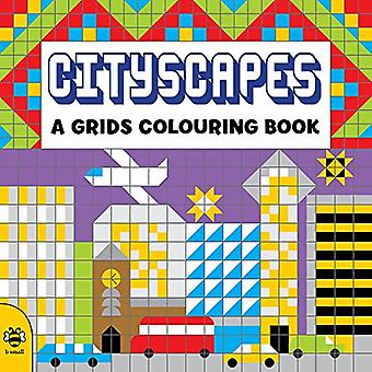 Cityscapes (Grids Colouring Books)