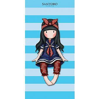 89,00 KR Santoro Girl Towel bath towel 140 * 70 cm Blue