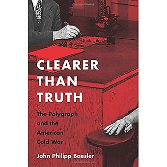 Clearer Than Truth: The Polygraph and the American Cold War (Culture and Politics in the Cold War and Beyond)
