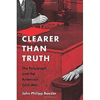 Plus claire que la vérité: Le détecteur de mensonges et de la guerre froide (Culture and Politics in the Cold War and Beyond)