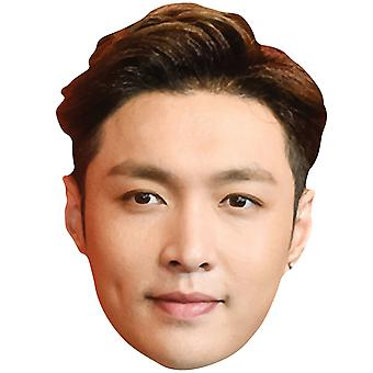 Lay from Exo 2D Card Party Face Mask