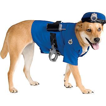زي الشرطة الحيوانات الأليفة