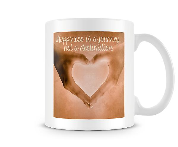 Happiness Is A Journey Not A Destination Mug