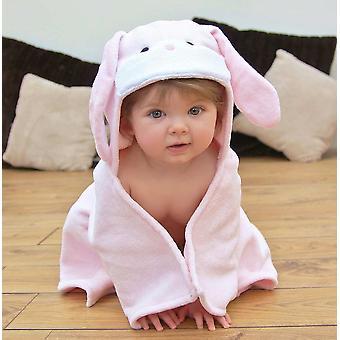 Conjunto de presente toalha de bebê bonito coelho