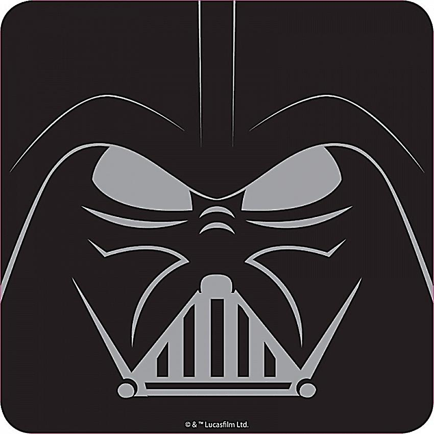 Darth Vader graphic (Star Wars) drinks mat / coaster (hb)