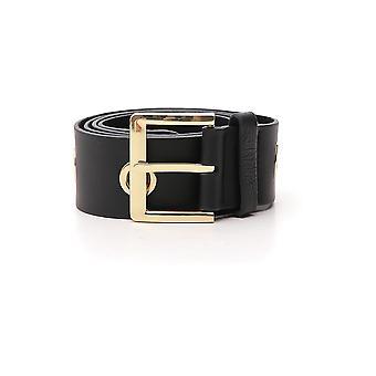 B-low The Belt Black Leather Belt