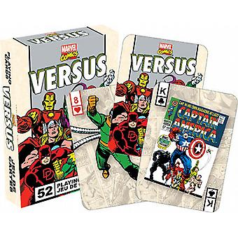 Marvel Comics Versus retro set of 52 playing cards    (nm)