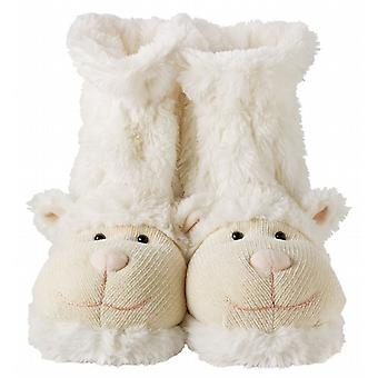 Casa aroma divertimento per calze piedi novità pantofola: agnello