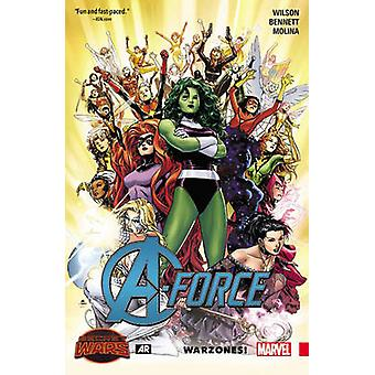 A-Force Volume 0 - Warzones! by Jorge Molina - G. Willow Wilson - Marg