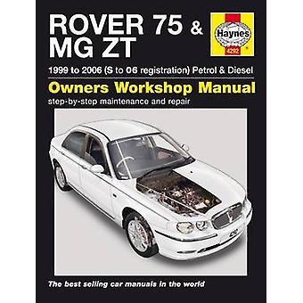 Rover 75 & MG ZT Service and Repair Manual - 9780857339317 Book