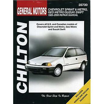 General Motors Chevrolet Sprint and Metro - Geo Metro/Suzuki Swift Re