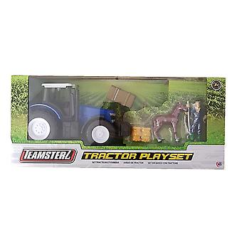 Teamsterz Tractor Playset - Blue