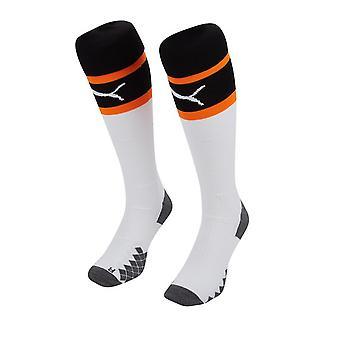 2019-2020 Valencia Home Puma Socks (White)