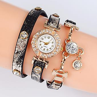 Tiana Snake Wrap Watches-Pink