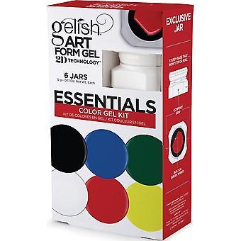 Gelish Nail Art Form 2019 Gel Kit - Essentials (6 X 5g)