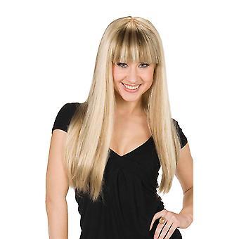 Hanna Hannah Montana peruka blond Mandy wig Anna i ELSA