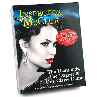 Paul Lamond Inspector McClue The Diamonds, The Dagger & One Classy Dame Game