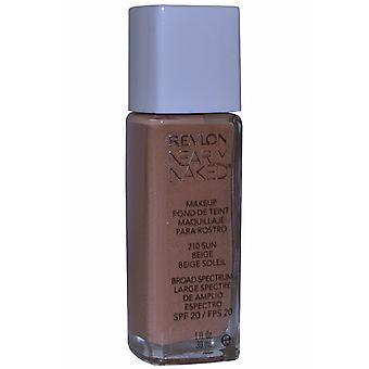 Revlon Nearly Naked Makeup Broad Spectrum SPF20 30ml Sun Beige (#210)