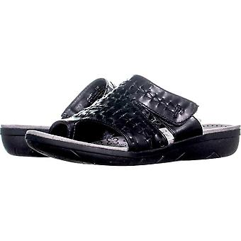 Bare Traps Womens Jeaney Open Toe Casual Slide Sandals