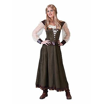 Medieval Market Woman Women's Costume Lady Carnival Carnival Theme Party Costume Ladies