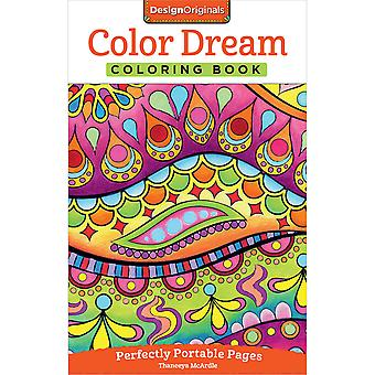 Design Originals-Color Dream Coloring Book DO-5571