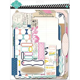 Heidi Swapp Mixed Media Scrapbook Album Kit 9